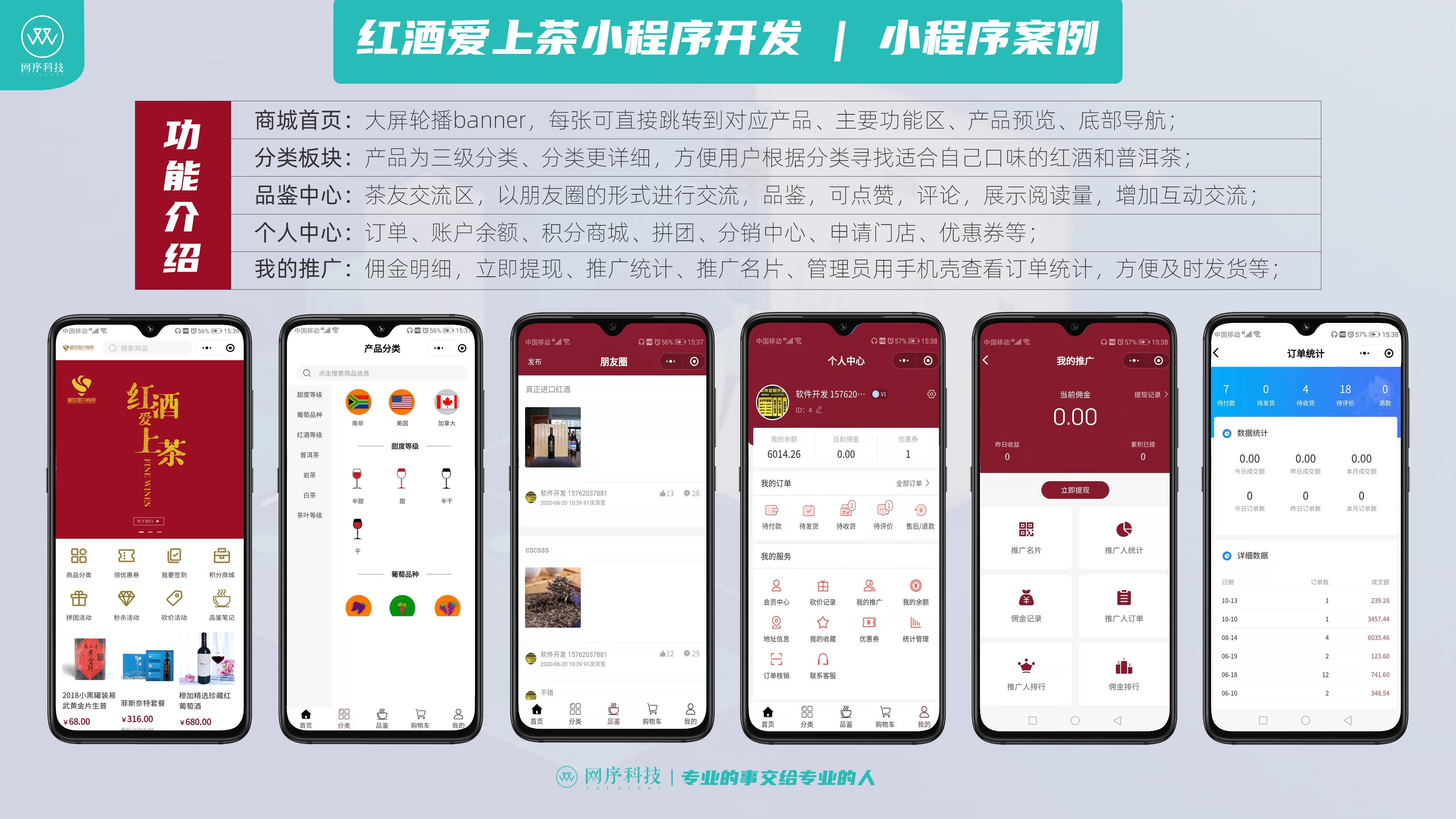 开元集团-红酒爱上茶 | 网序科技